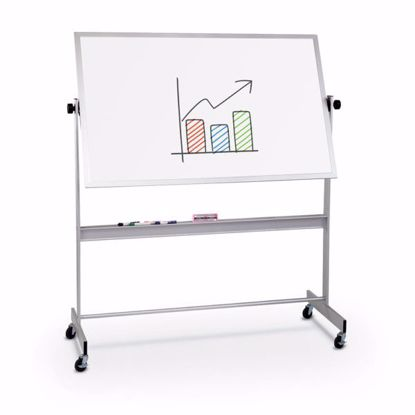 Picture of Porcelain Markerboard both sides Aluminum Trim - 4'x6'