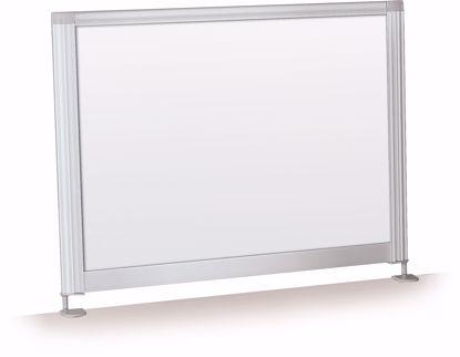 "Picture of Desktop Privacy Panel - 21.5"" Porcelain"