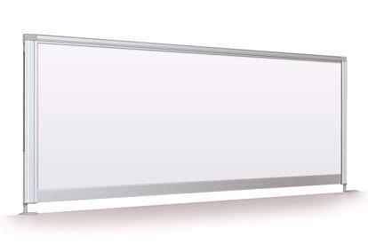 "Picture of Desktop Privacy Panel -  58"" Porcelain"