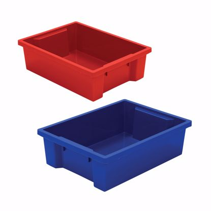 Picture of Best-Rite Tubs - set of 2 (1 Red, 1 Blue)