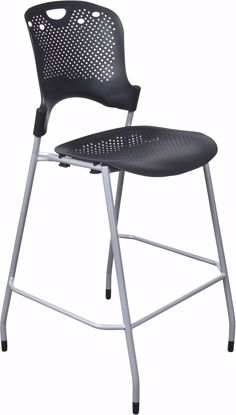Picture of Circulation Stacking Stool - Black