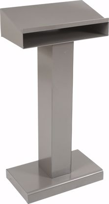 Picture of METAL LECTERN (Silver)