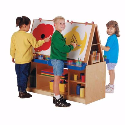 Picture of Jonti-Craft® 4 Station Art Center - ThriftyKYDZ®