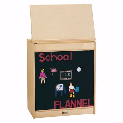 Picture of Jonti-Craft® Big Book Easel - Flannel - ThriftyKYDZ®