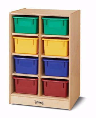 Picture of Jonti-Craft® 8 Cubbie-Tray Mobile Unit - without Trays