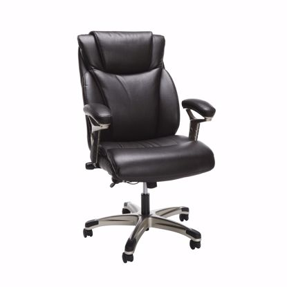 Picture of ESSENTIALS Ergo Executive Leather Chair Brn