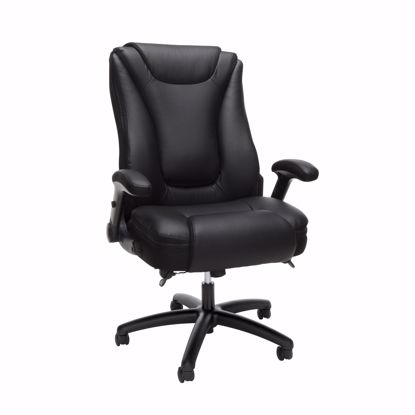 Picture of ESSENTIALS Ergonomic Exec Leather Chair BLK