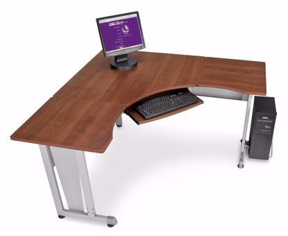 "Picture of WORKSTATION 60""X60"" SIDE 24"" - CHERRY"