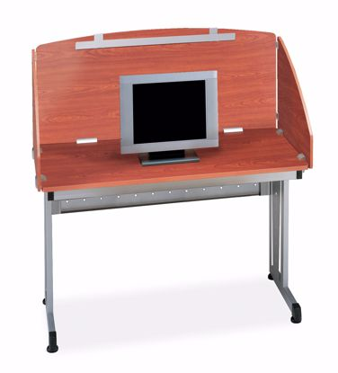 Picture of 24 X 48 STUDY CARREL - CHERRY