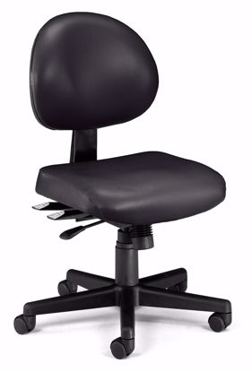 Picture of 24/7 TASK CHAIR IN BLACK VINYL AM