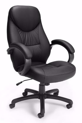 Picture of ERGONOMIC TASK/CONFERENCE CHAIR - BLACK