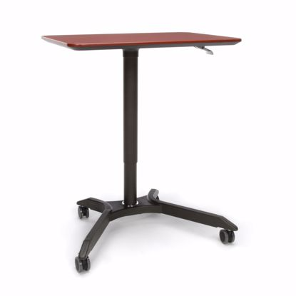 Picture of MESA HEIGHT ADJUSTABLE MOBILE PODIUM CHERRY