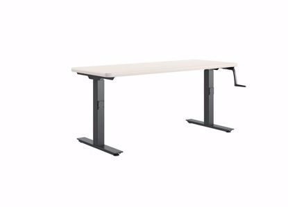 Picture of HI-LO BENCH - 60 X 24 P-LAM ALMOND