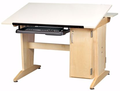 Picture of DRAFT/DRAW TABLE TOWER W/KEYBD TRAY