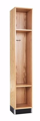 Picture of BACKPACK CABINET,OAK, 1 OPENING