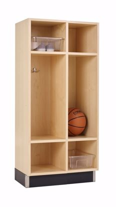 Picture of BACKPACK CABINET,MAPLE,2 OPENINGS