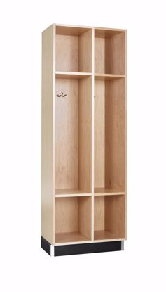 Picture of BACKPACK CABINET,MAPLE, 2 OPENINGS
